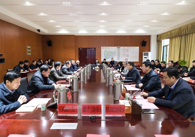 枞阳县天然气项目合资合作协议签订仪式顺利举行